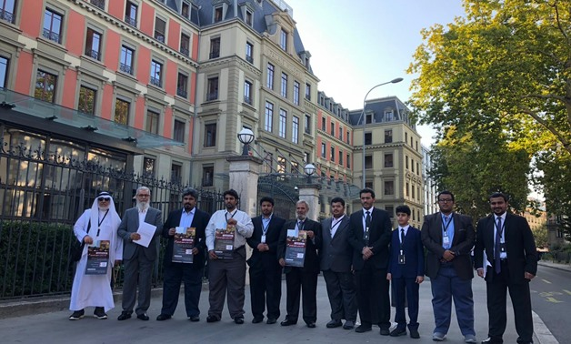 Al-Ghufran Tribe delegation submits petition on Qatari human rights violation to UNHRC - Egypt