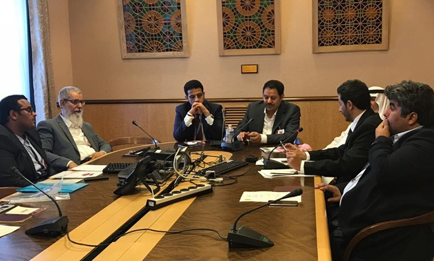 A delegation from the Al-Ghufran tribe called on the UN Human Rights Council to take serious action towards investigating their complaint, submitted Monday, against the Qatari regime's human rights violations against the tribe. - Egypt Today