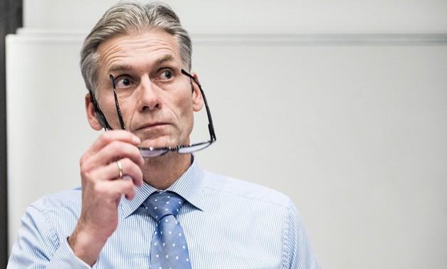 Thomas Borgen, then CEO of Denmark's largest lender Danske Bank.  AFP / Ritzau Scanpix / Anne BAEK