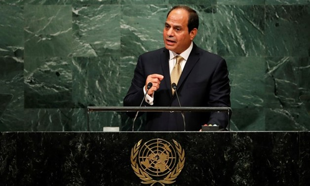 Sisi at UNGA: Labeling terror sponsors is a must