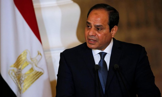 Sisi arrives at UN Headquarter to participate at Nelson Mandela Summit