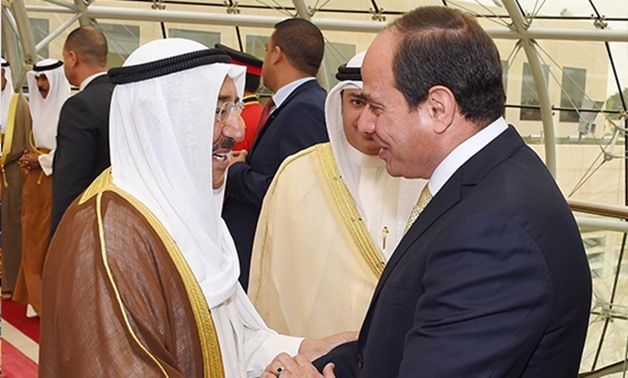 Sisi invites Kuwaiti emir to attend Youth Forum in November