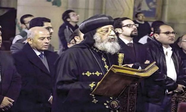 Pope Tawadros launches service building at U.S. church