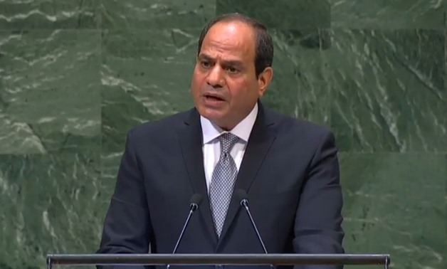 Sisi addresses UN role, peace in Arab region at UNGA 73