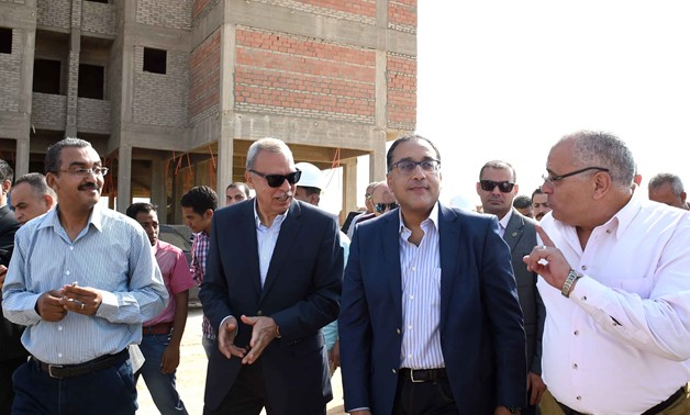 Prime Minister Moustafa Madbouli inspected on Thursday New Qena city- Press photo