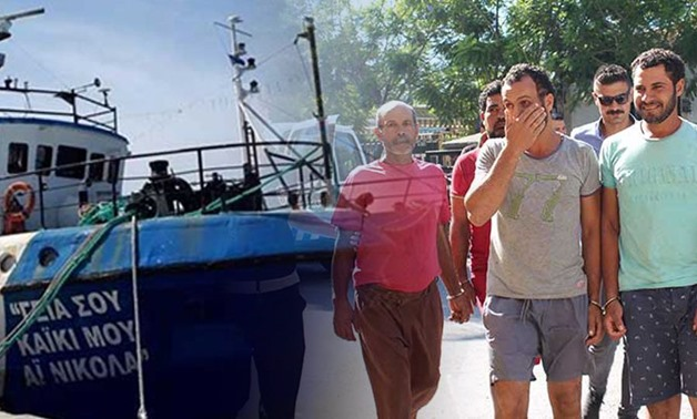 Egyptian fishermen held by Turkish-occupied Cyprus released