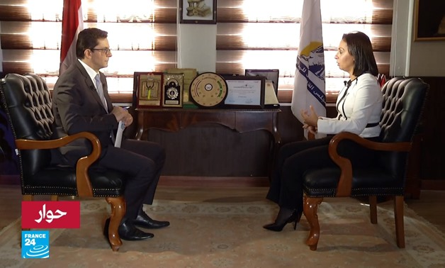 Maya Morsy reviews NCW's achievements in France24 interview