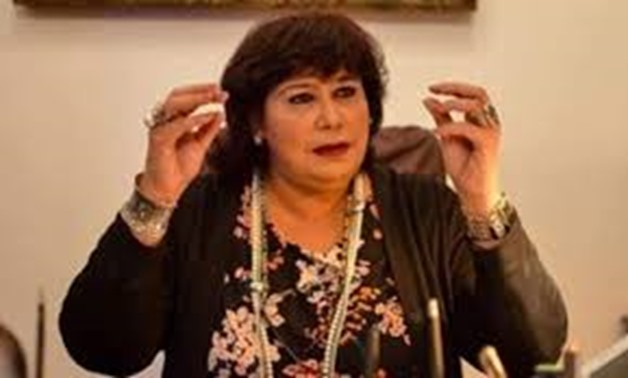Min. of Culture Inas Abdel Dayem - Egypt Today