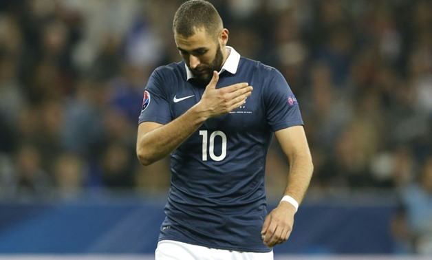 Karim Benzema has not appeared for France since coming off in the 81st minute just after scoring his second goal against Armenia in Nice in October 2015