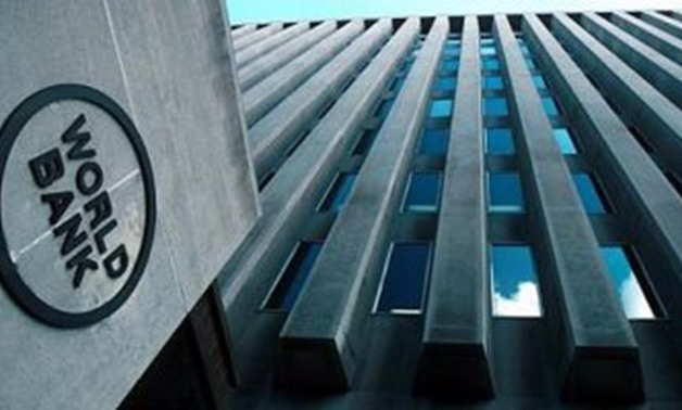 FILE - World Bank headquarters