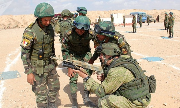 FILE: Egypt to Host Joint Drills of Russian, Egyptian Paratroopers in 2018 - MoD
