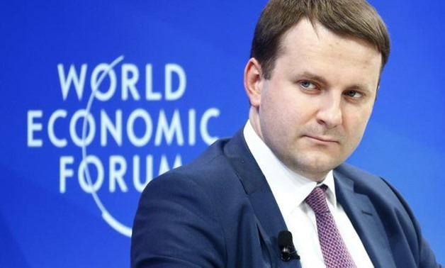 Maxim Oreshkin, Minister of Economic Development of Russia attends the World Economic Forum (WEF) annual meeting in Davos, Switzerland January 19, 2017.