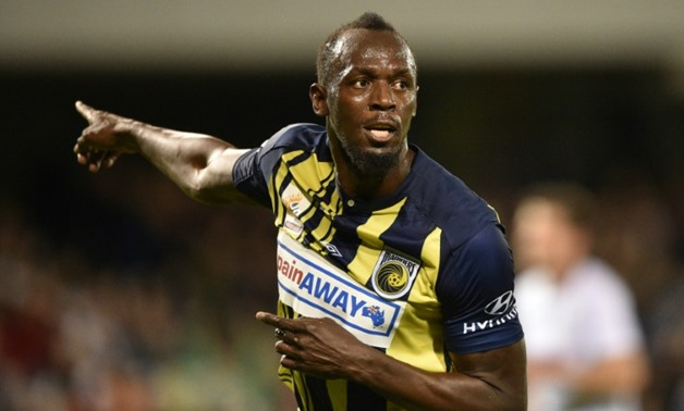 Since retiring from athletics last year, Usain Bolt has been pursuing his dream of becoming a professional footballer AFP/File / PETER PARKS