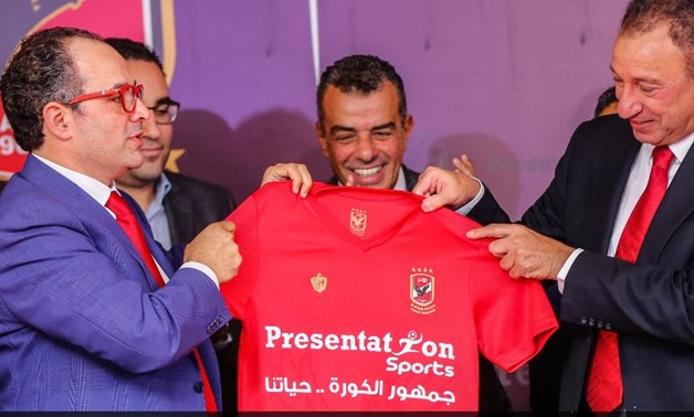 Presentation Sports wins sponsorship rights of Al-Ahly SC