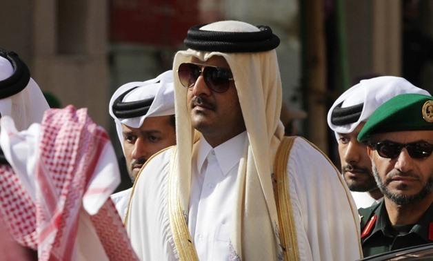 Qatari Emir Sheikh Tamim bin Hamad – press photo