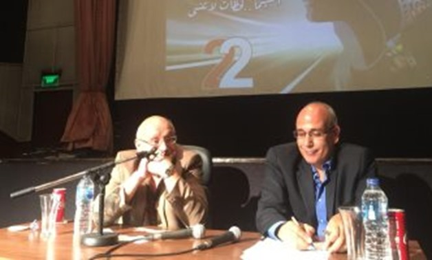 Samir Seif during the press conference - Egypt Today.