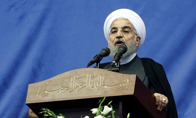 Iranian President and presidential candidate Hassan Rouhani has made including online freedom a key theme of his campaign - AFP