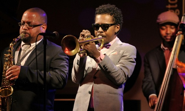 Roy Hargrove (C), seen playing at the Hamilton club in Washington, died on November 2, 2018, his Facebook page announced.
