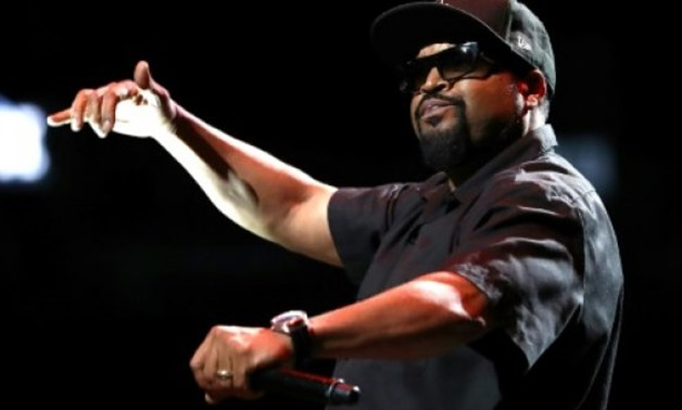 © GETTY IMAGES NORTH AMERICA/AFP/File | Ice Cube frequently infuses his raps with blunt sociopolitical commentary