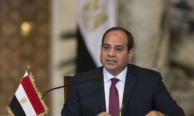 President Sisi speaks during a news conference after the talks with Russia's President Vladimir Putin in Cairo, Egypt December 11, 2017. REUTERS/Alexander Zemlianichenko