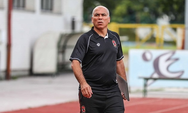 FILE- Al-Ahly Assistant Manager, Mohamed Youssef