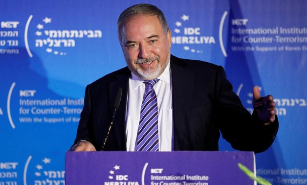 Lieberman resigns in objection to ceasefire, labels it 'weakness'