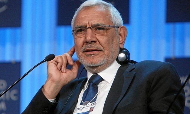 Former Presidential Candidate Abdel Moneim Aboul Fotouh, , at the Annual Meeting 2012 of the World Economic Forum at the congress centre in Davos, Switzerland, January 27, 2012 – WEF/Remy Steinegger