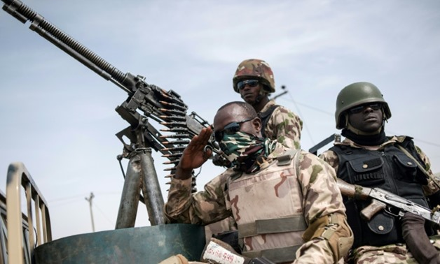 Nigeria soldiers in the northeast regularly complain of insufficient supplies of food and arms in the fight against Boko Haram