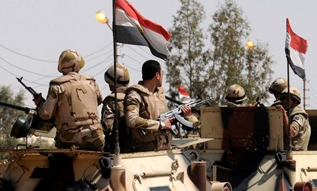 FILE - Egyptian army troops – Reuters