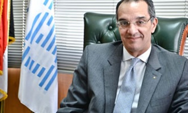 FILE - Minister of Communications Amr Talaat