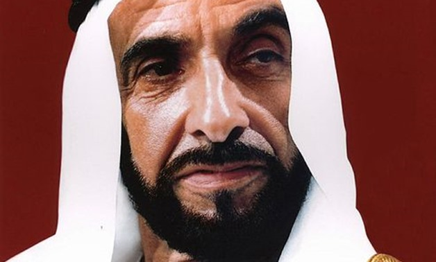 The official picture of His Highness Sheikh Zayed bin Sultan Al Nahyan as released in the public domain by the United Arab Emirates Ministry of Foreign Affairs - CC via Wikimedia Commons/United Arab Emirates Ministry of Foreign Affairs