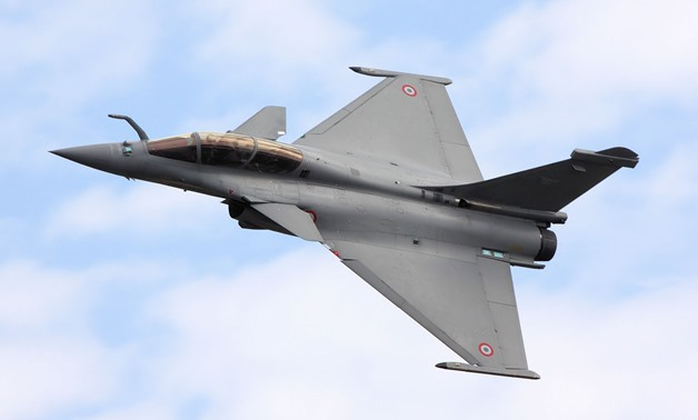 Egyptian air fighter Rafale – (Archive)