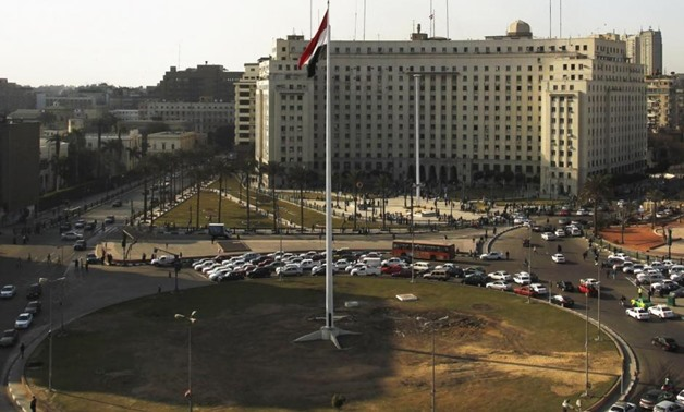 The samples included articles from The Washington Post, The Independent, and Le Monde - CC via Wikimedia Commons/Sollok29Egypt's national flag is seen raised at the top of a flagpole, which was recently installed in Tahrir square, in central Cairo, Februa