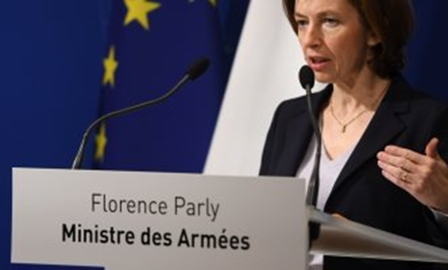 French Minister of Armed Forces Florence Parly started on Dec. 3 her visit to Egypt