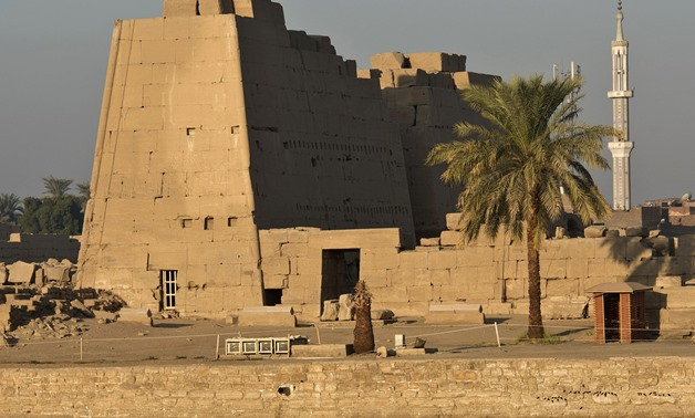 The Temple of Karnak, in the southern Egyptian city of Luxor (AFP)