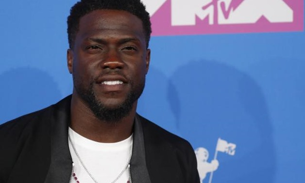 FILE PHOTO: 2018 MTV Video Music Awards - Arrivals - Radio City Music Hall, New York, U.S., August 20, 2018. - Kevin Hart. REUTERS/Andrew Kelly.
