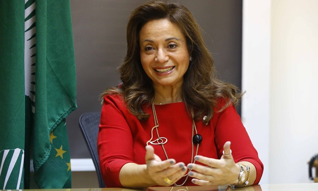 AU Commissioner Dr. Amani Abou Zeid during an interview with Egypt Today - Photo by Hossam Atef/Egypt Today