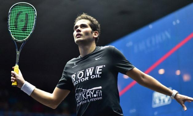 File- Karim Abdel Gawad, photo courtesy of Squash Site