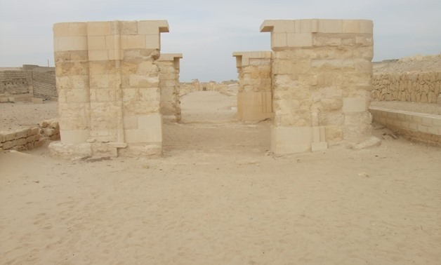 First stage of restoration works - Egypt Today