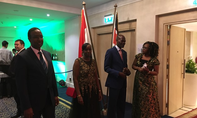 Egyptian and Kenyan diplomats celebrated the day Nairobi gained its independence from the British rule, highlighting historic relations between both countries - Photo by Nourhan Magdi/Egypt Today