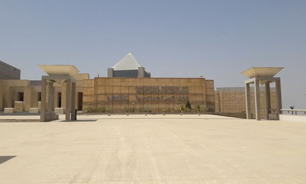 The under-construction National Museum of Egyptian Civilization- Egypt Today/Fatma Khaled