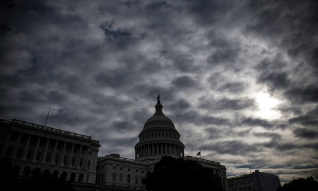 The mood is dark in Washington as the city heads for a partial government shutdown