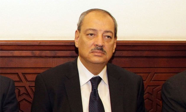 FILE - Egypt's Attorney General Nabil Sadeq