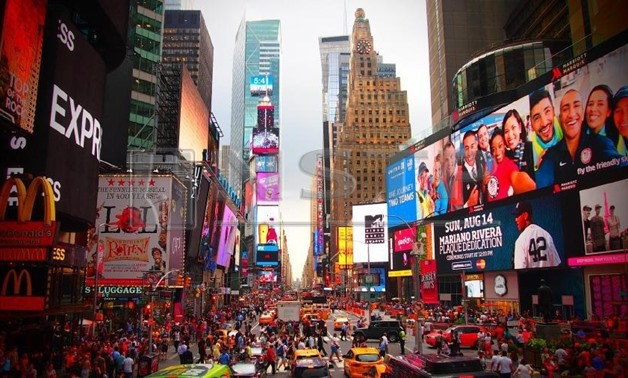 New Year's Eve party in Times Square to cheer for press freedom
