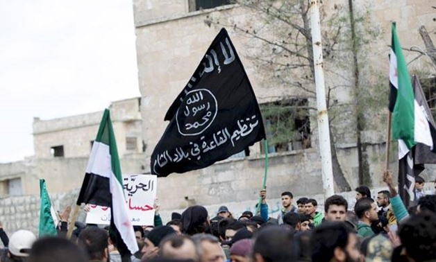 FILE - Al-Qaeda Flag - Reuters