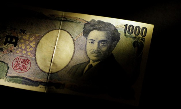 A Japan Yen note is seen in this June 22, 2017 illustration photo. REUTERS/Thomas White/Illustration
