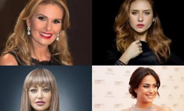 FILE - Yousra, Nelly Karim, Laila Elwi, HendSabry