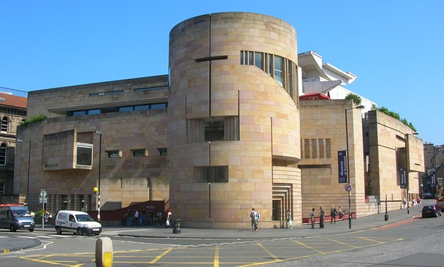 FILE - The Museum of Scotland in Edinburgh via wikimedia commons