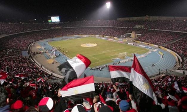 File- Cairo International Stadium during AFCON 2006