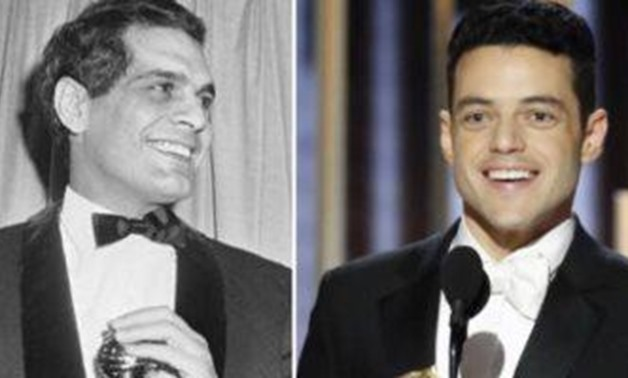 Rami Malek and Omar Sharif - a photo complied by Egypt Today.